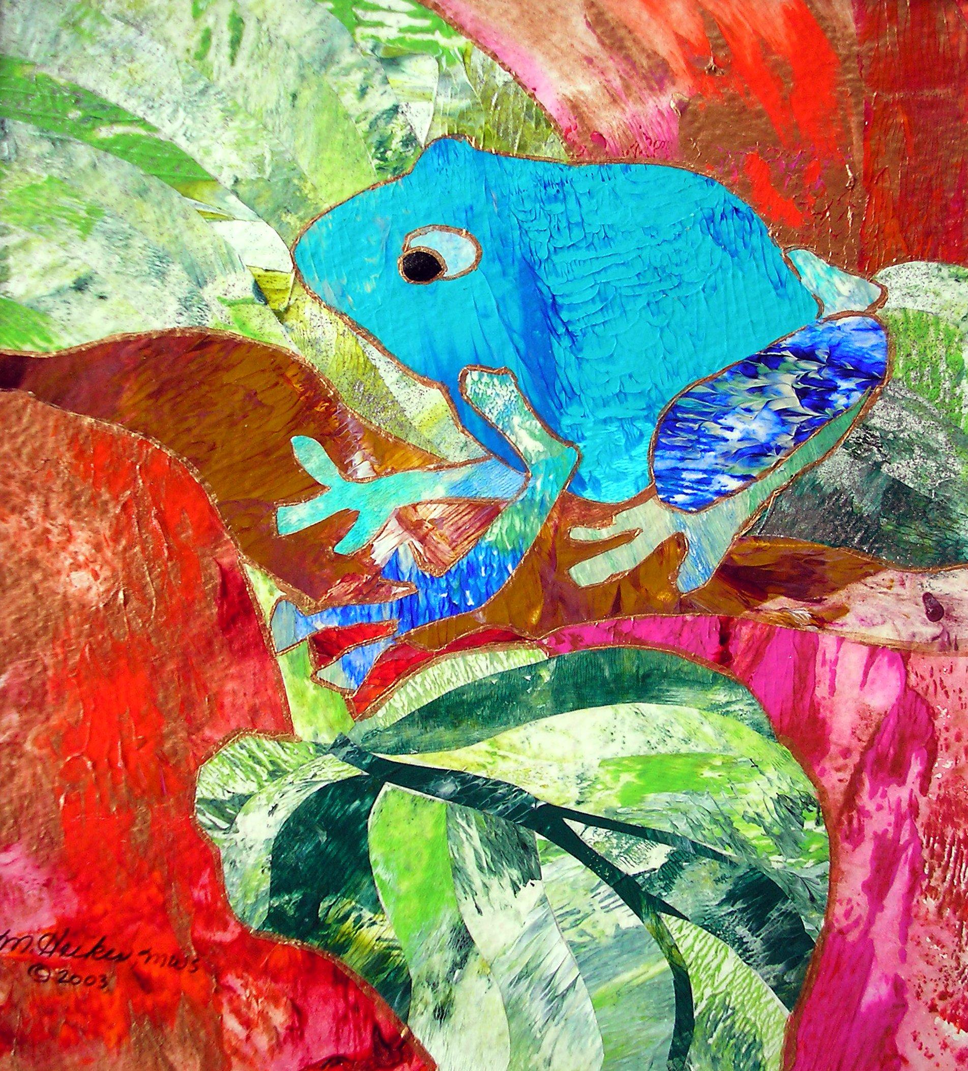 Teal Frog