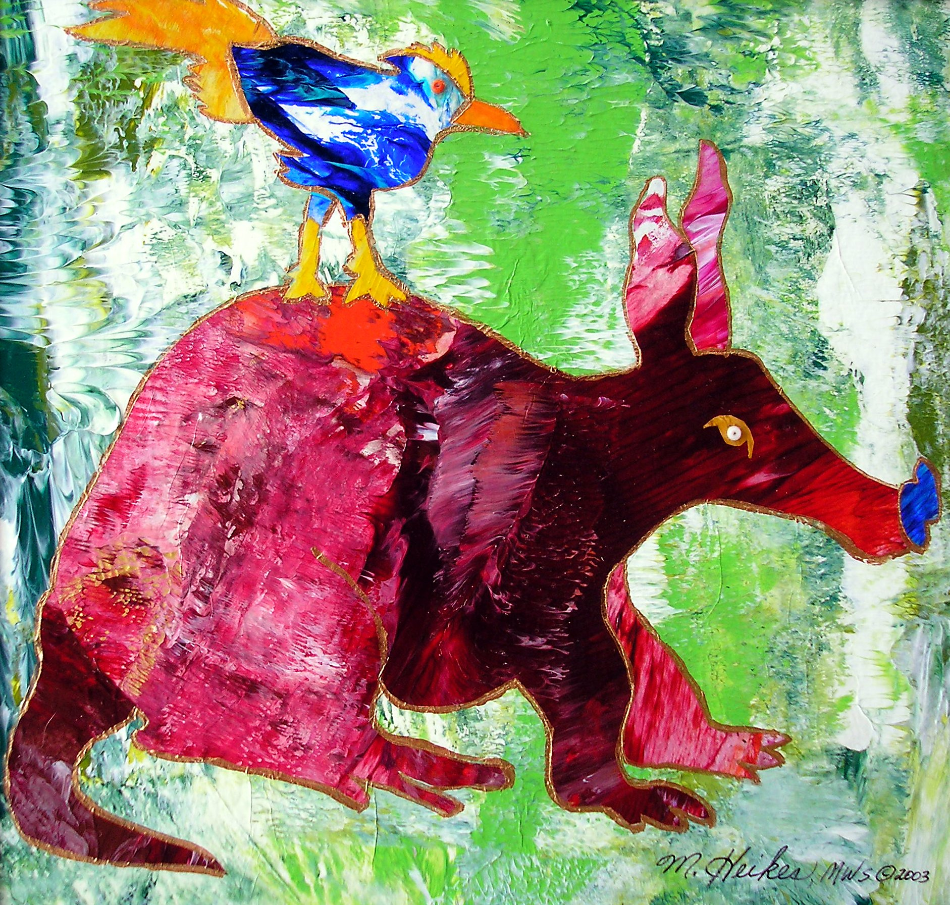 Red Aardvark & Bluebird