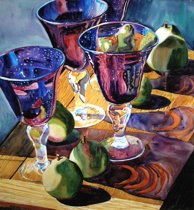 Goblets #1 (Sunday Shadows)