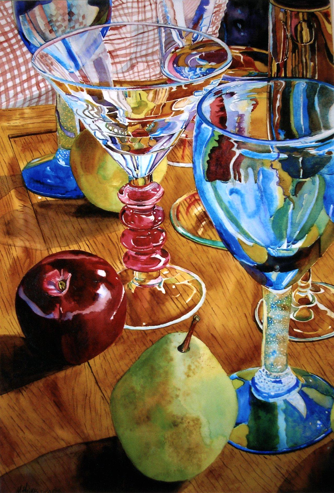 Apple Pear Martini (Glassware Pattern #6)