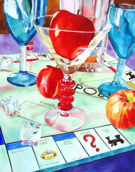 Apple Martini Monopoly