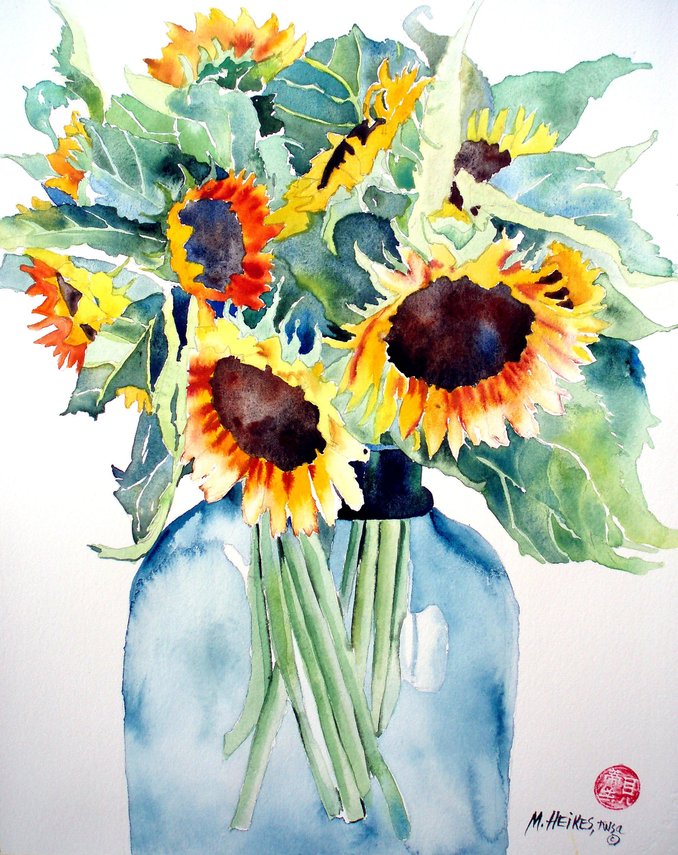 Saturday Sunflowers