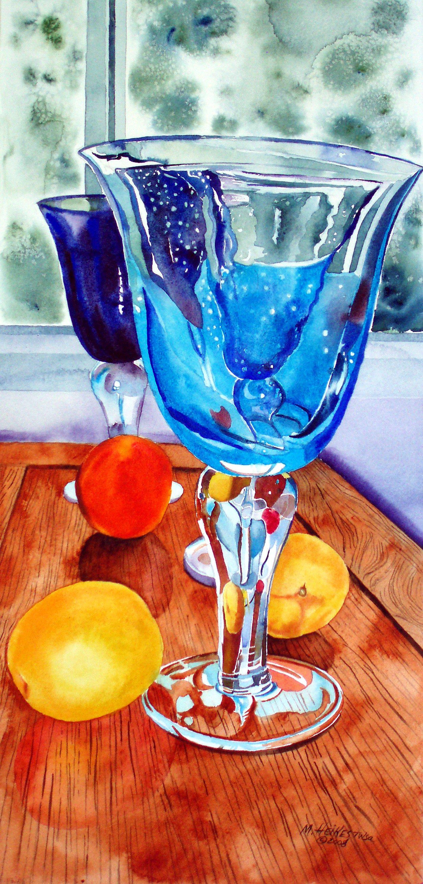 Apricots & Goblets