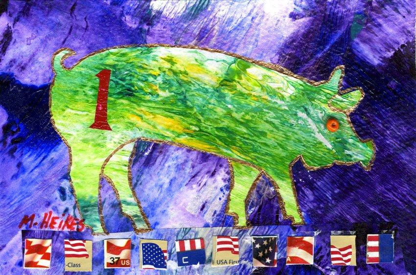 Patriotic Pig