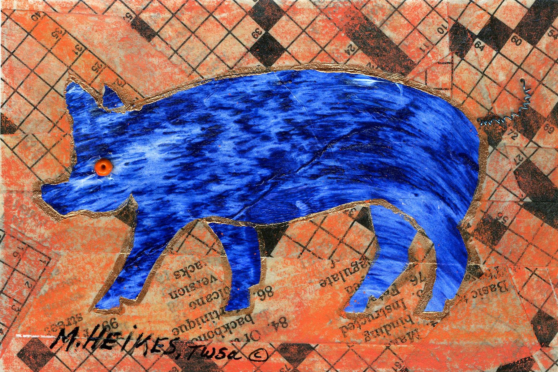 Crossword Pig #1