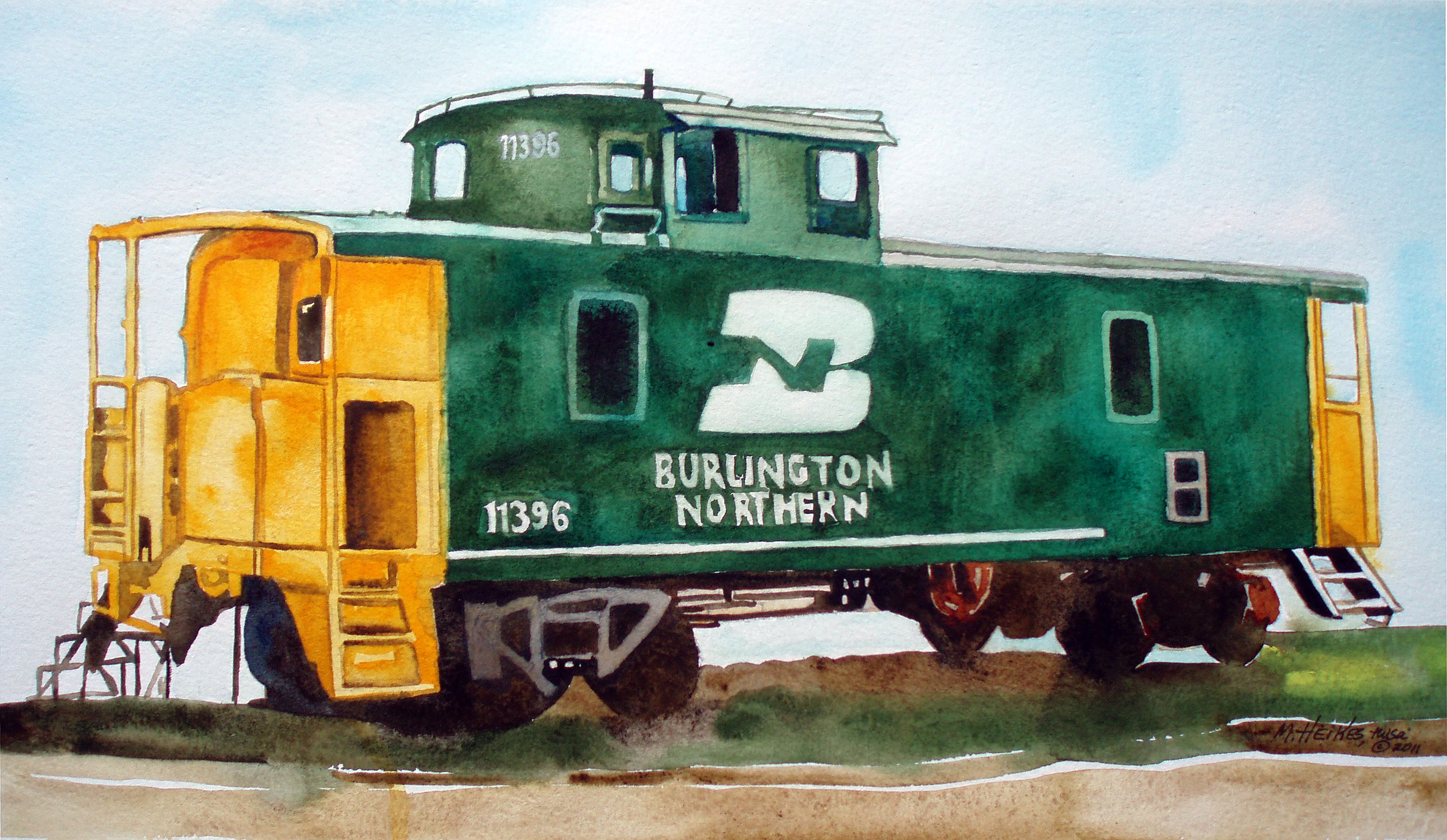 Burlington Northern 11396