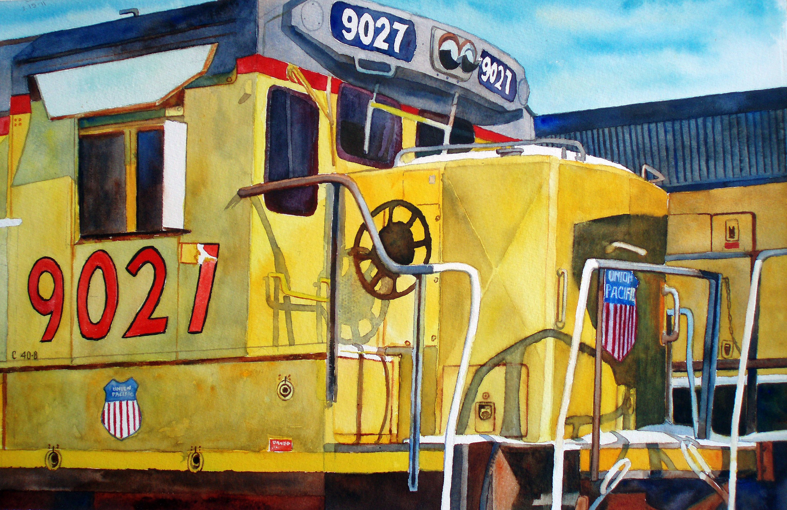 Union Pacific Engine 9027