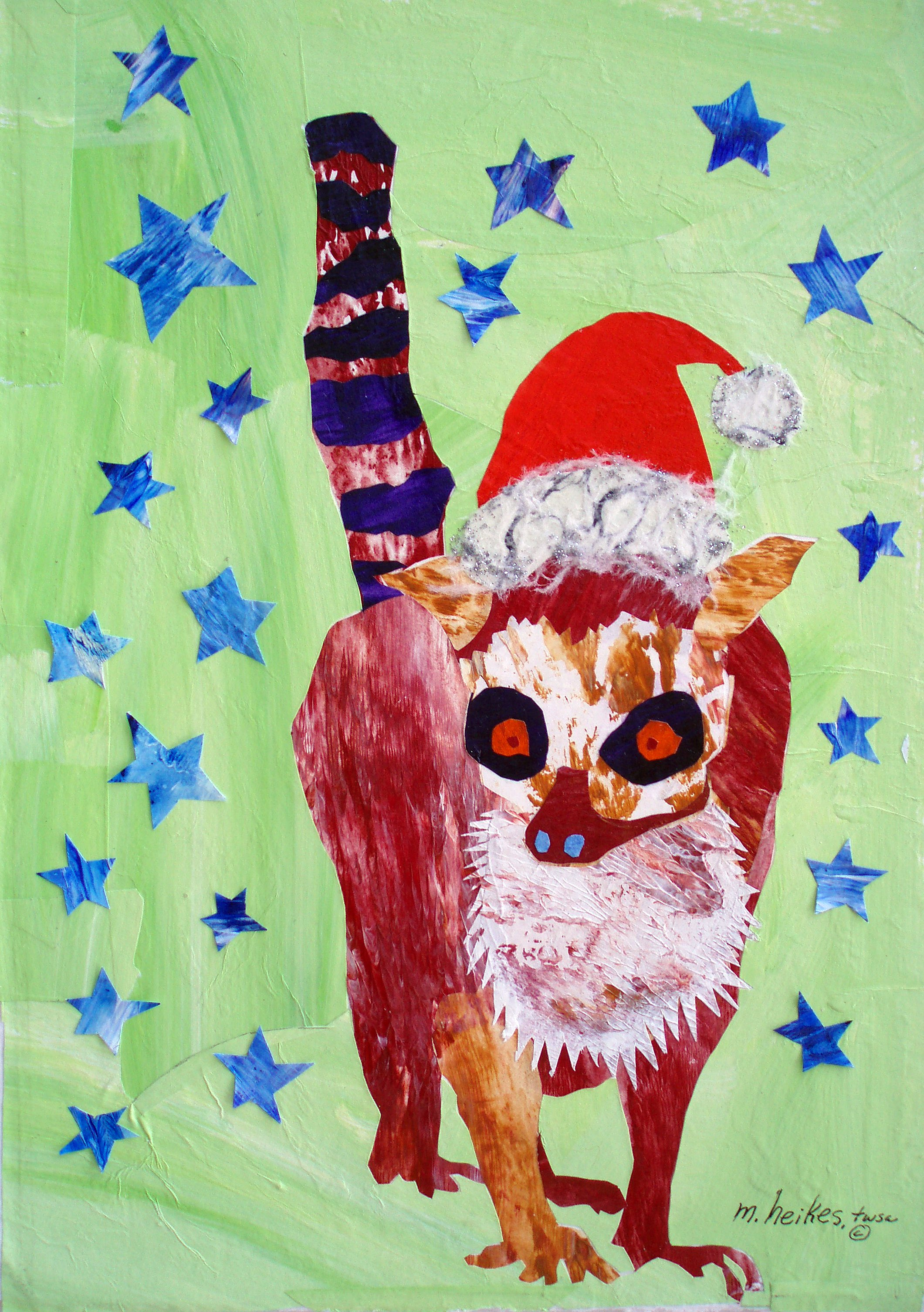 Kris Kringle Lemur
