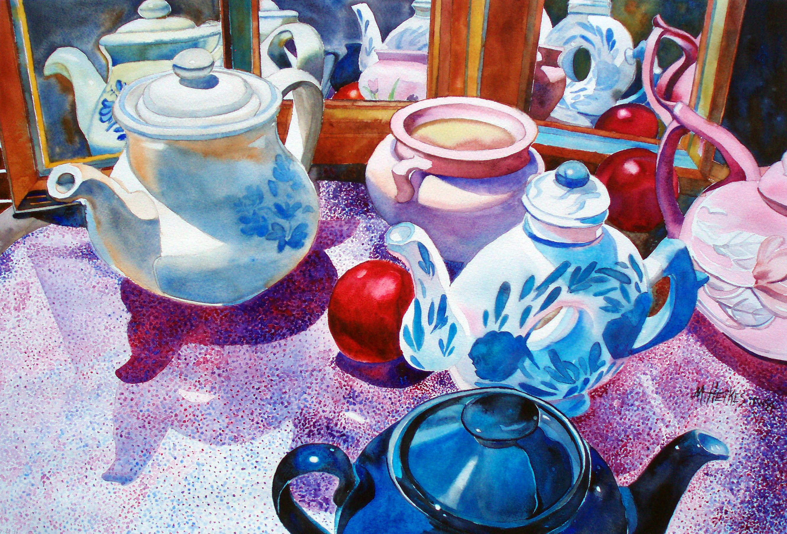 Nectarines and Teapots
