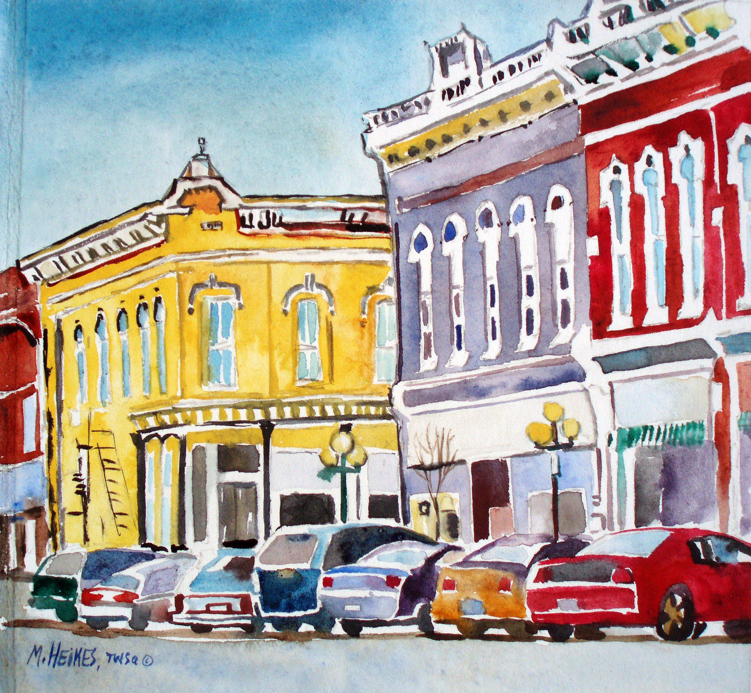 Benton Street Corner, Albia