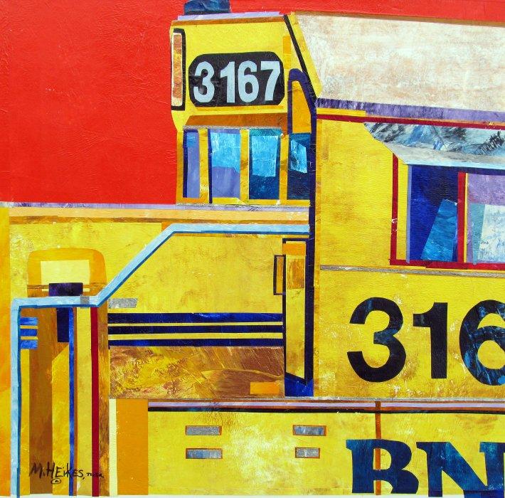 Burlington Engine 3167