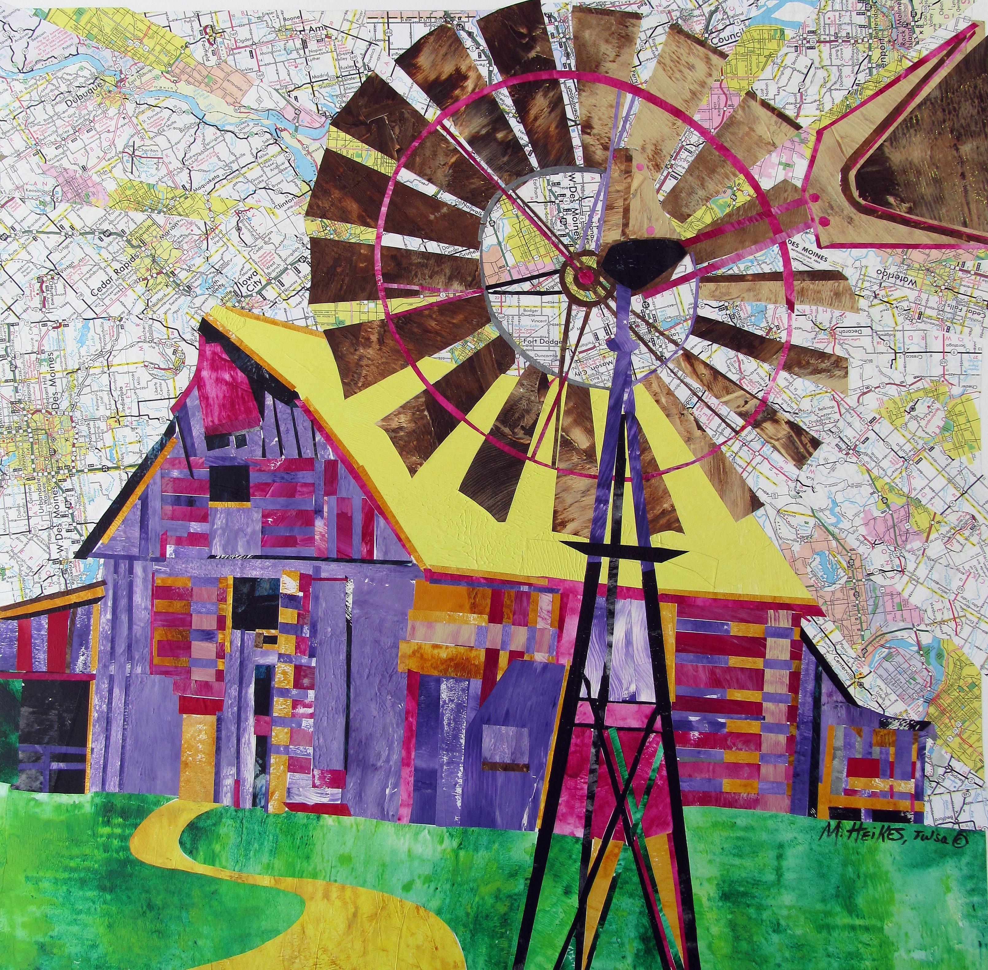 Windmill at Forbush Road