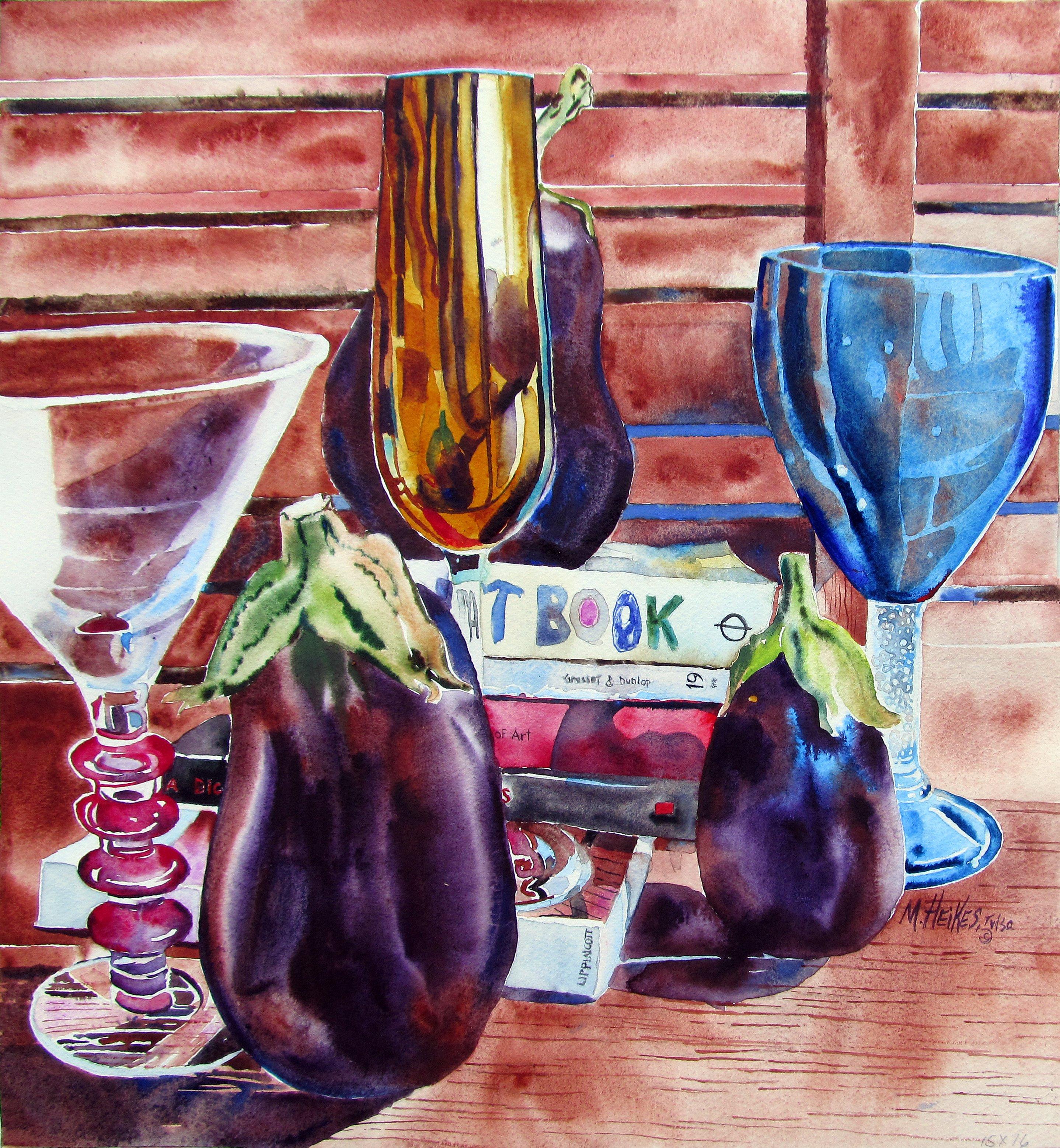 Eggplants & Champagne