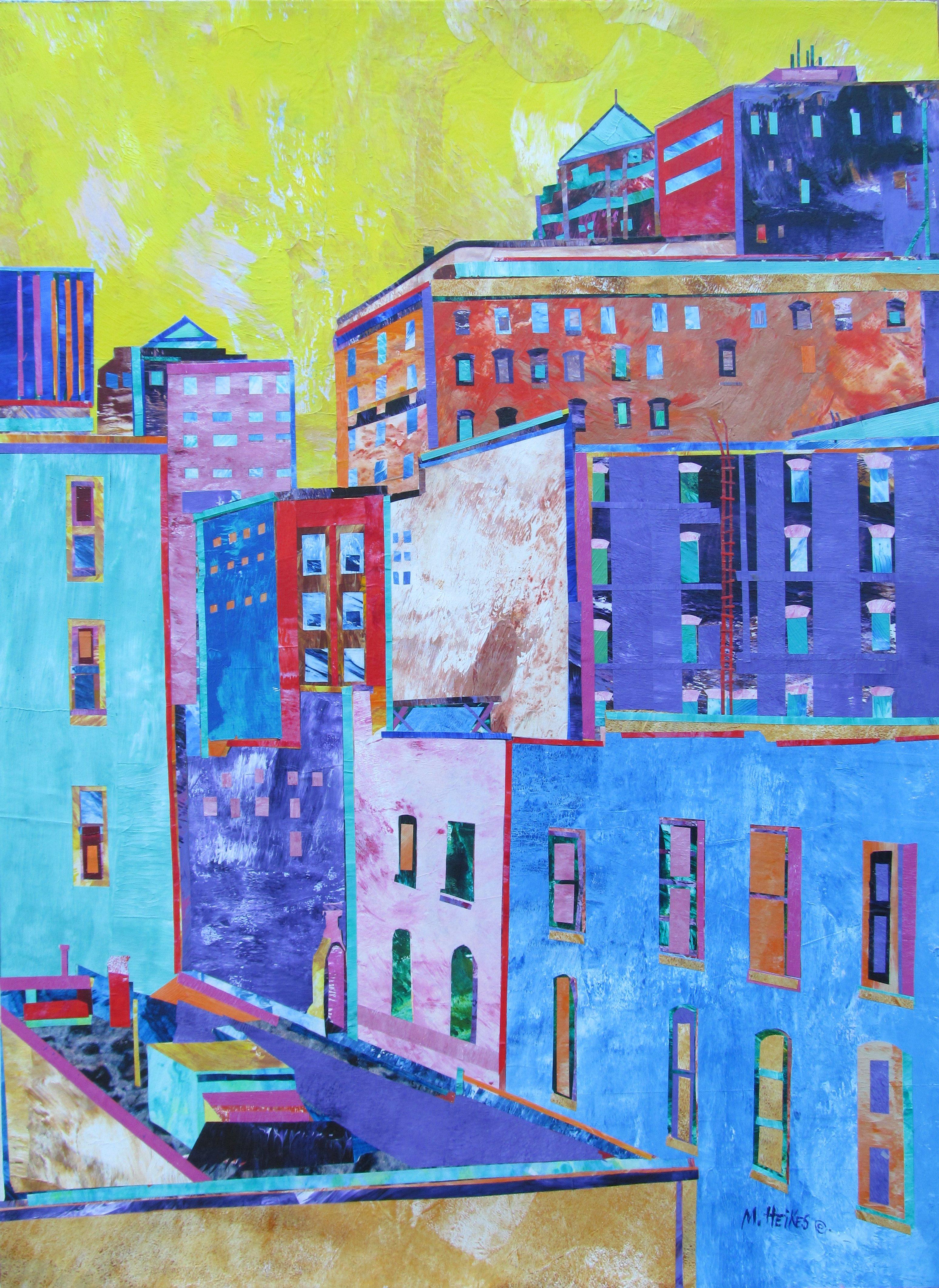Saffron Sky, Downtown Des Moines