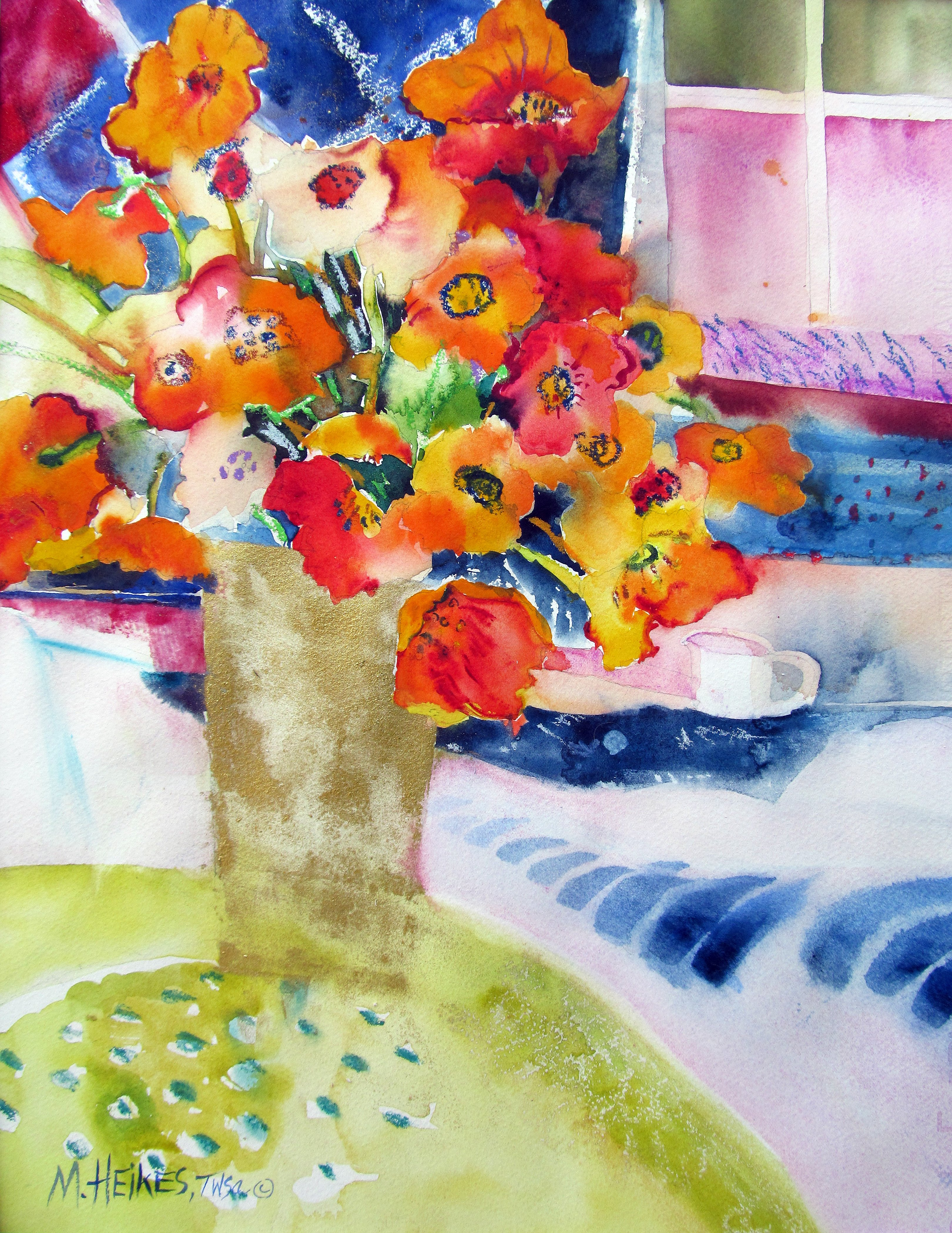 Tea Time / Iceland Poppies Bouquet