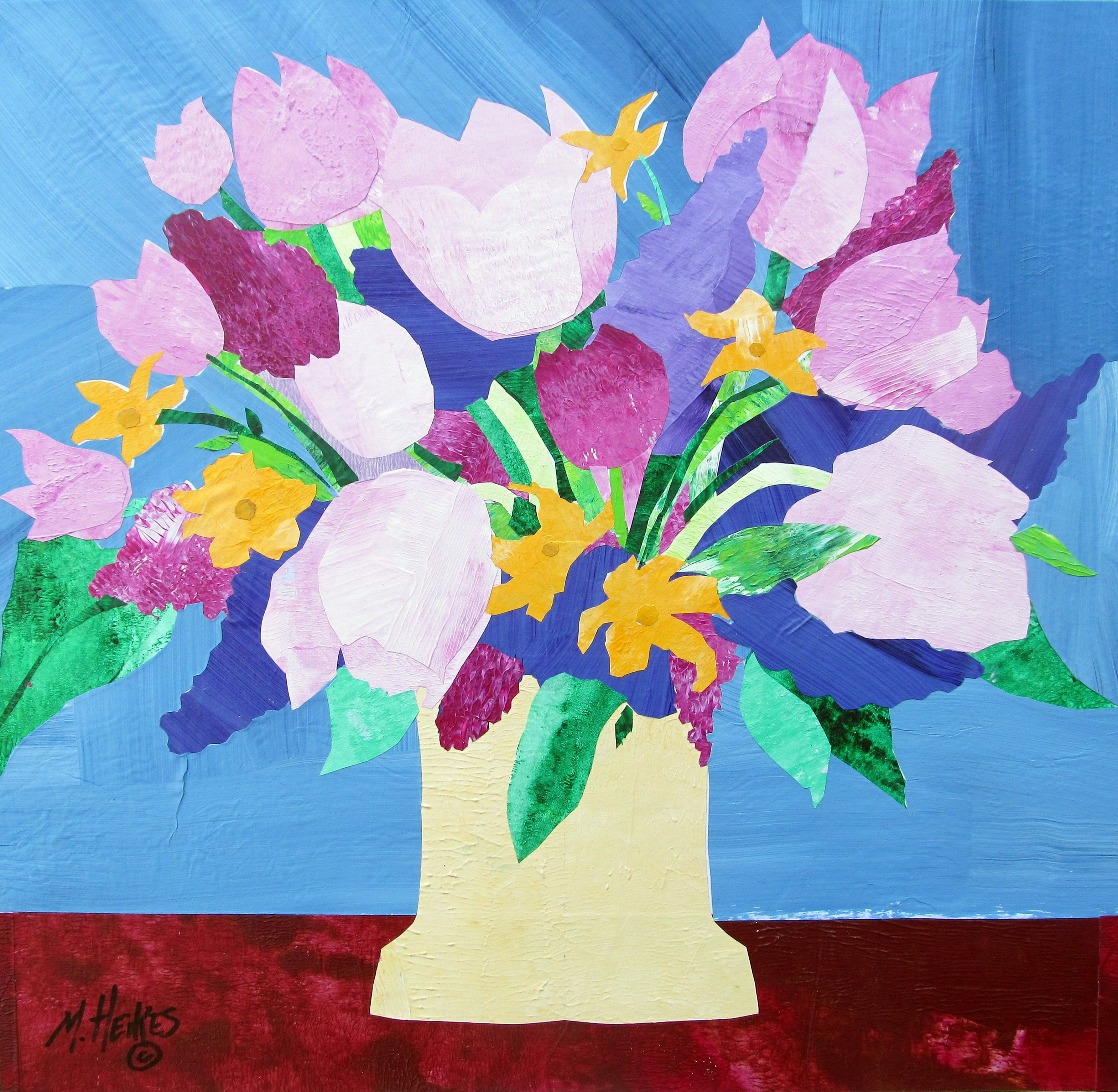 Lilacs, Lilies & Tulips
