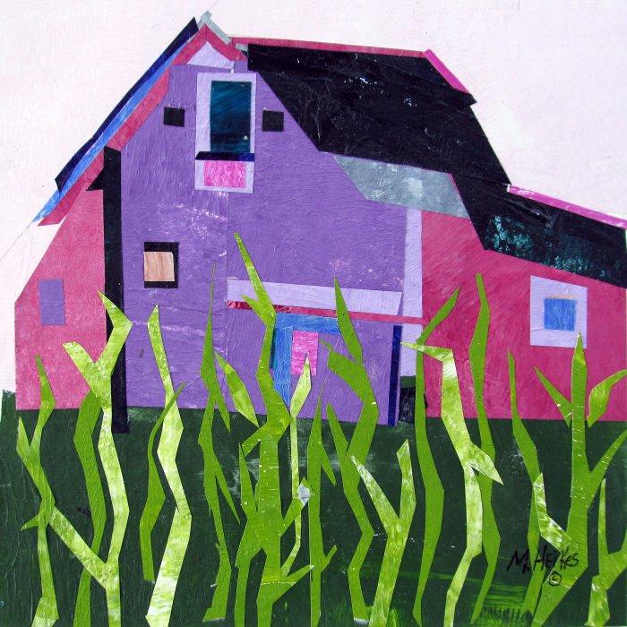 Cornfields & Purple Barn