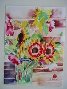 Garden Bouquet watercolor