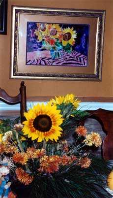 Sunflower and Centerpiece