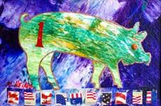 Patriotic Pig.